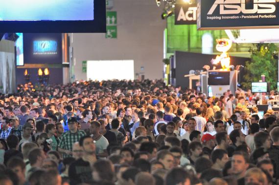 Impressionen gamescom 2011, Halle 6